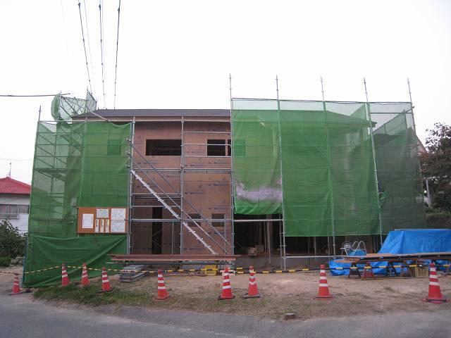 project【しまなみ式環境共生住宅】断熱・気密工事