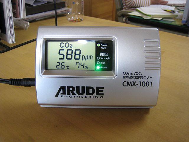 室内空気監視モニター