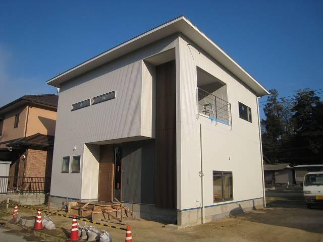 鹿田原の家 完成間近